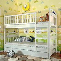 """Кровать двухъярусная детская """"Смайл"""" TM ArborDrev, фото 1"""
