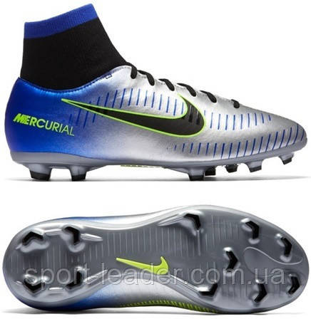 47dd1c29 Детские футбольные бутсы Nike Mercurial Victory VI DF Neymar FG 921486-407  - Sport-