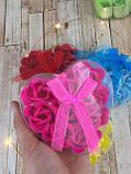 Набор подарочное мыло розы 9 бутонов ( подарок на 14 февраля ), фото 3