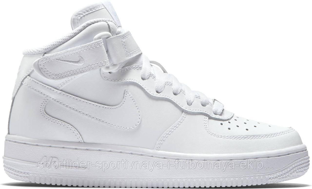 ba07ae3f Детские кроссовки Nike Air Force 1 MID (GS) 314195-113, цена 2 800 ...