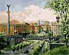 Картины по номерам 40×50 см. Майдан Незалежності Київ