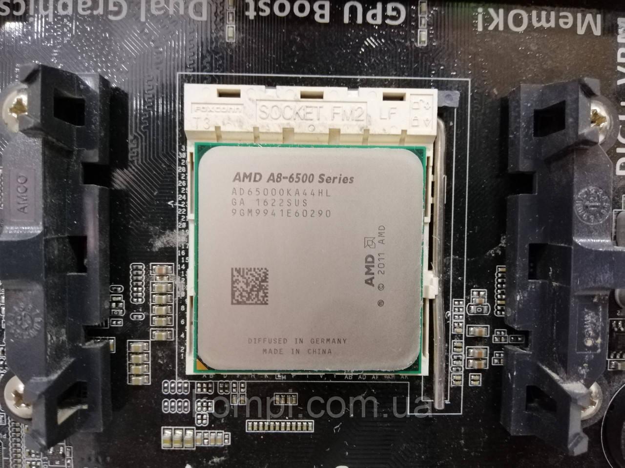 Процессор AMD A8-6500, FM2, 3.50 GHz(4.10) GHz, 4 ядра, 4MB, Radeon HD8570D