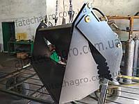 Челюстной ковш на фронтальный погрузчик , фото 1