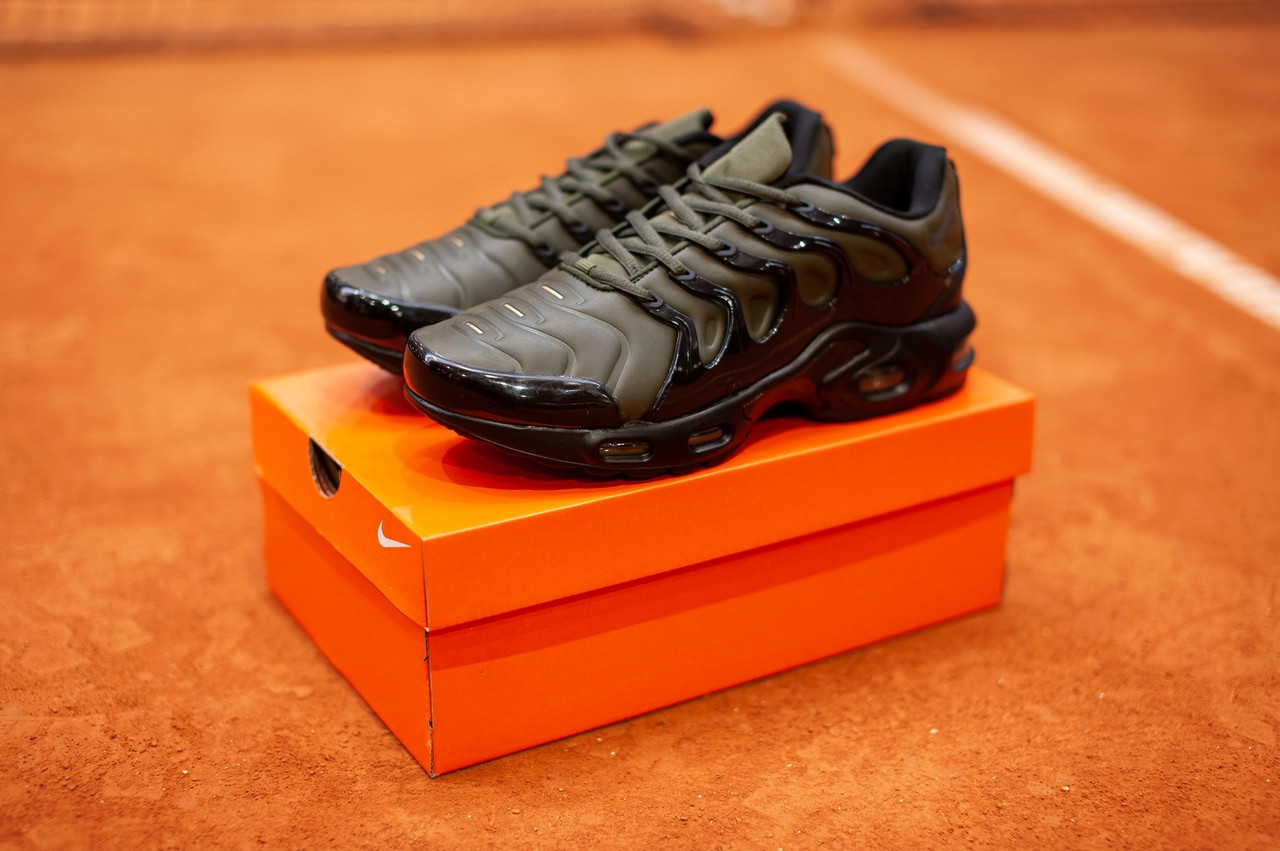 Мужские кроссовки в стиле Nike Air Max Tn Plus (khaki), (Реплика ААА)