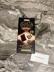Черный шоколад Torras Zero 72 % какао с кофейными зернами (шоколад без сахара и глютена)