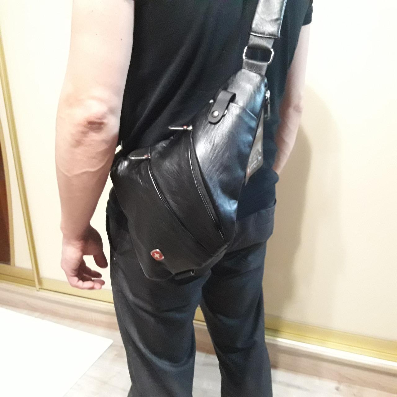 Молодежный рюкзак Swissgear мини 7 л черный
