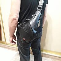 Молодежный рюкзак Swissgear мини 7 л черный , фото 1