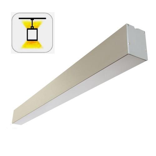 Vela VL-LED (1000мм) 40W+30W 7700Lm подвесной светодиодный линейный светильник
