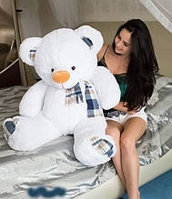 Плюшевий ведмедик білий (130 см)