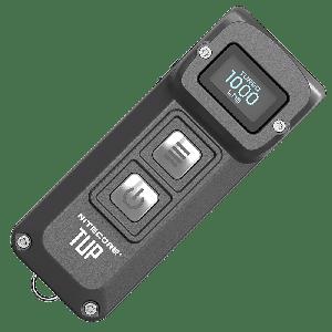 Наключный фонарь с OLED дисплеем Nitecore TUP