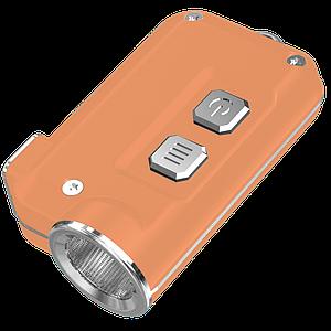 Медный мини-наключный фонарь Nitecore TINI CU