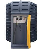 Резервуар SWIMER 10000 FUDPS  для дизельного пального (мобільна міні заправка АЗС КАЗС ДТ ДП бочка ємність)