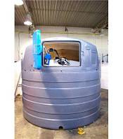 Резервуар 5000  AdBlue  для розчину карбаміду з утепленням та підігрівом (ємніть, бочка, єврокуб)