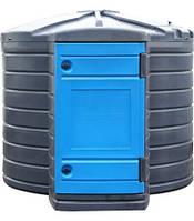 Резервуар SWIMER 7500 ADBLUE  для розчину карбаміду з утепленням і підігрівом (ємніть, бочка, єврокуб)