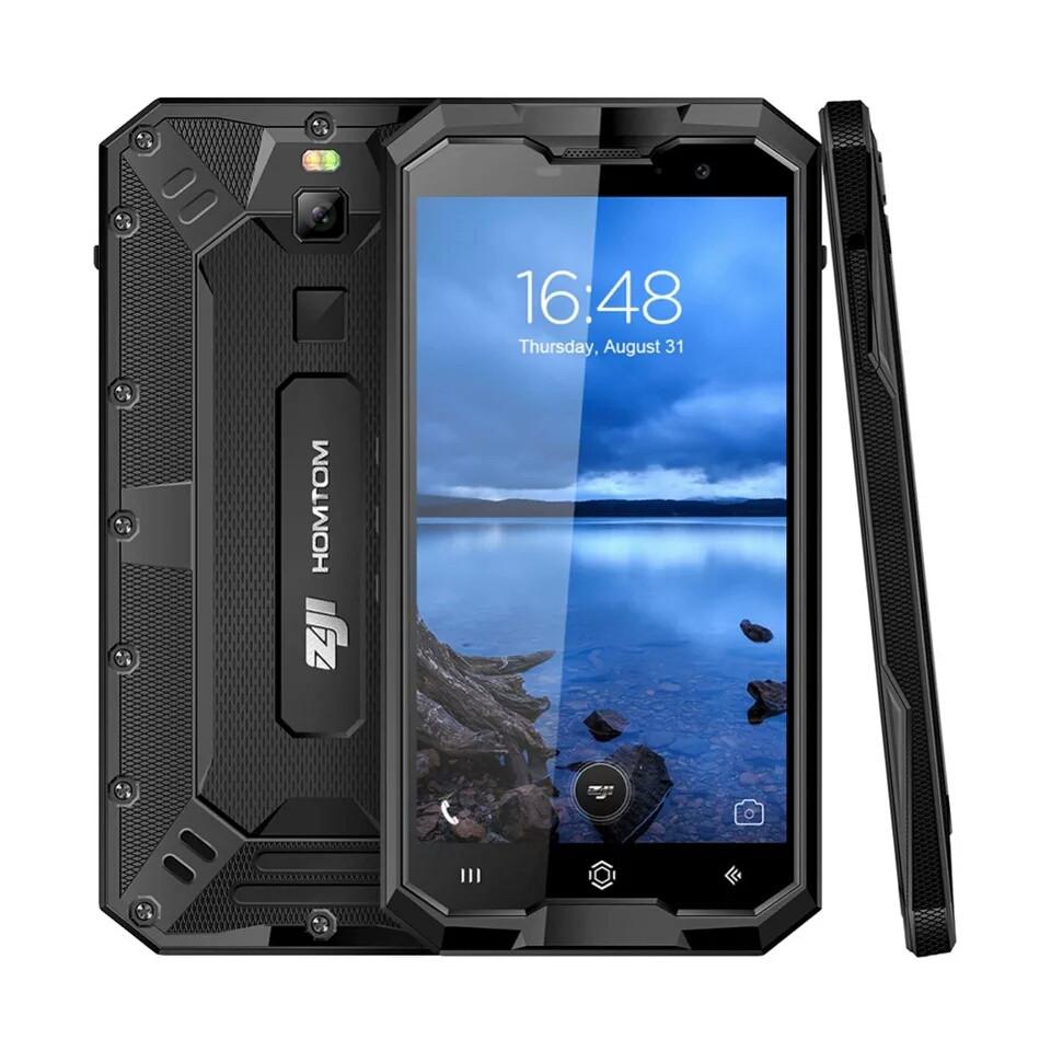 Смартфон Homtom Zoji z8 IP68 4\64гб Black