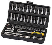 Профессиональный набор инструментов Сталь 46 единиц (70014), фото 1