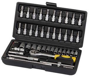 Профессиональный набор инструментов Сталь 46 единиц (70014), фото 2