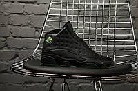 Мужские кроссовки Nike Air Jordan 13 altitude green (копия)