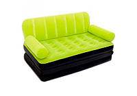 Bestway 67356-green, надувной диван трансформер. Зеленый, фото 1