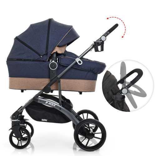 Детская универсальная коляска-трансформер 2 в 1 El Camino B-move (ME 1021-4) всесезонная