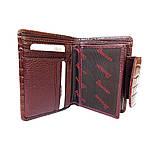 edc0e1247361 ... Женское портмоне кожаныйDesisan 086-626 с тиснением коричневый, фото 5  ...