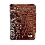 cd6abe3b6468 Женское портмоне кожаныйDesisan 086-626 с тиснением коричневый, фото 2 ...