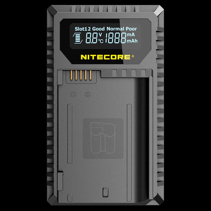 Зарядное устройство Nitecore UNK2 для камер Nikon