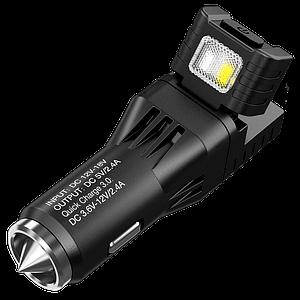 Многофункциональный фонарь от прикуривателя и автомобильное зарядное устройство Nitecore VCL10