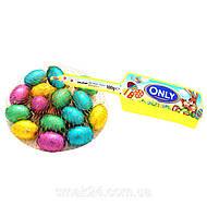 Шоколад молочный (конфеты шоколадные) Яйца цветные  Onli Австрия 100г, фото 1