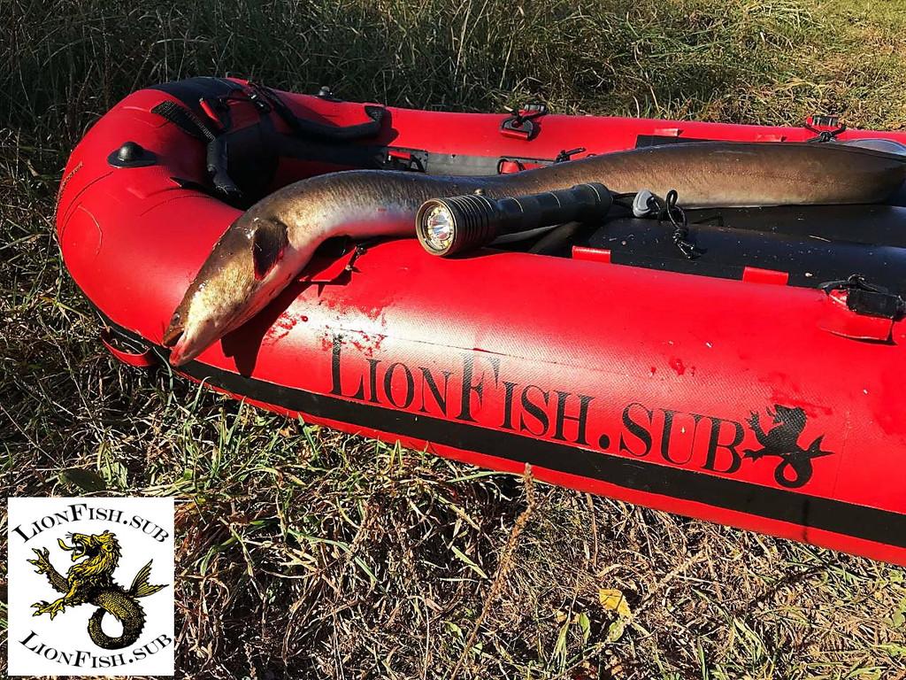 Буй Плотик LionFish.sub для Подводной Охоты, Дайвинга и Фридайвинга