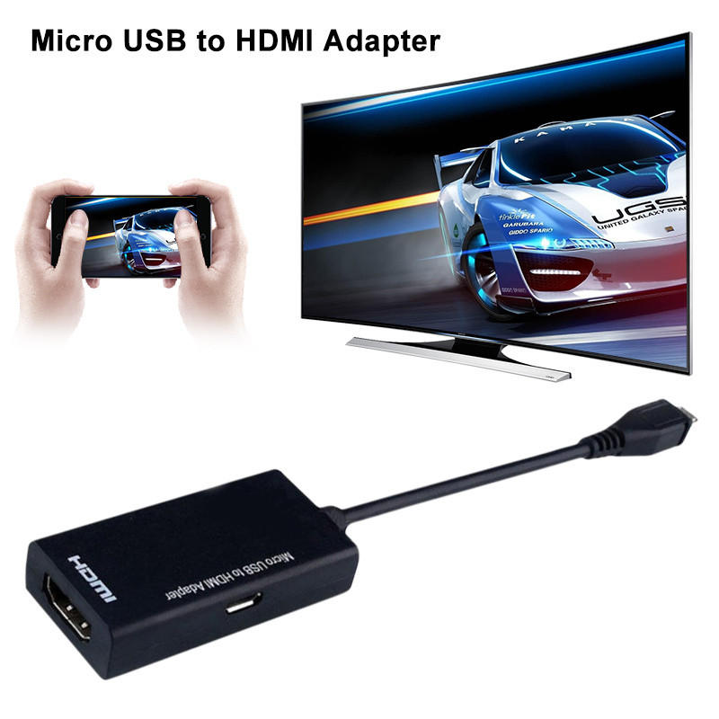 Переходник micro USB - HDMI MHL 5Pin Адаптер конвертер преобразователь