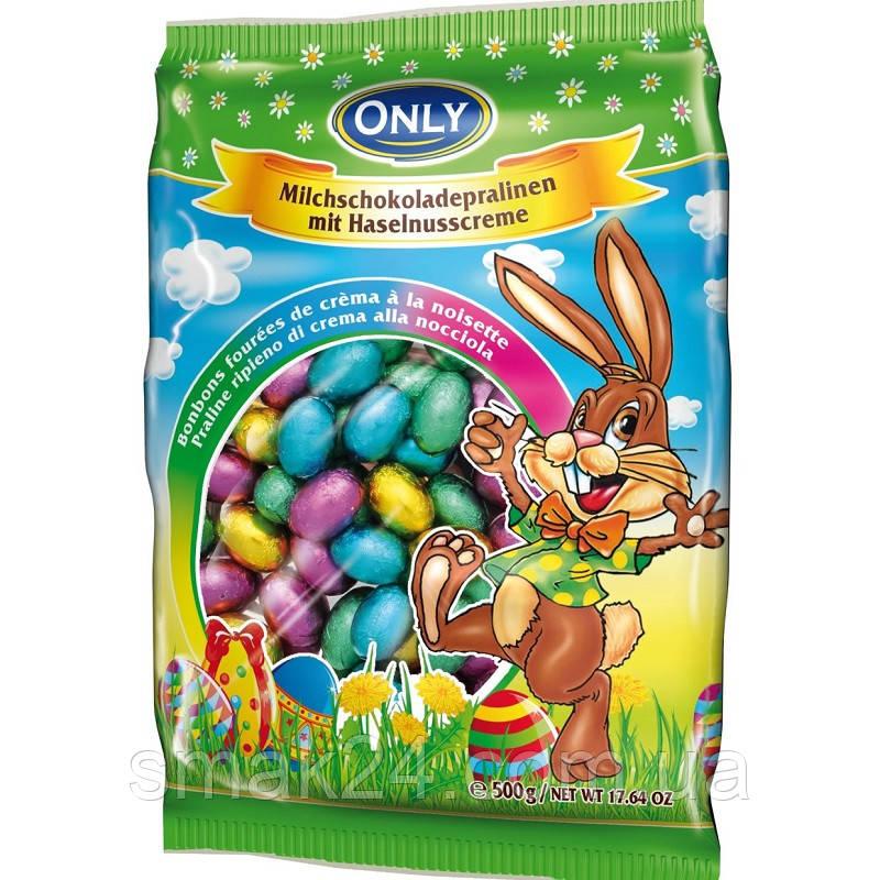 Шоколад (конфеты)  молочный с ореховым пралине Onli Австрия 500г