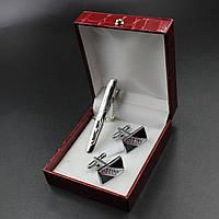 Запонки и зажим для галстука Oreste 24