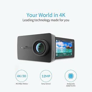 Экшн-камера Xiaomi Yi 4k Black Международная версия, фото 2