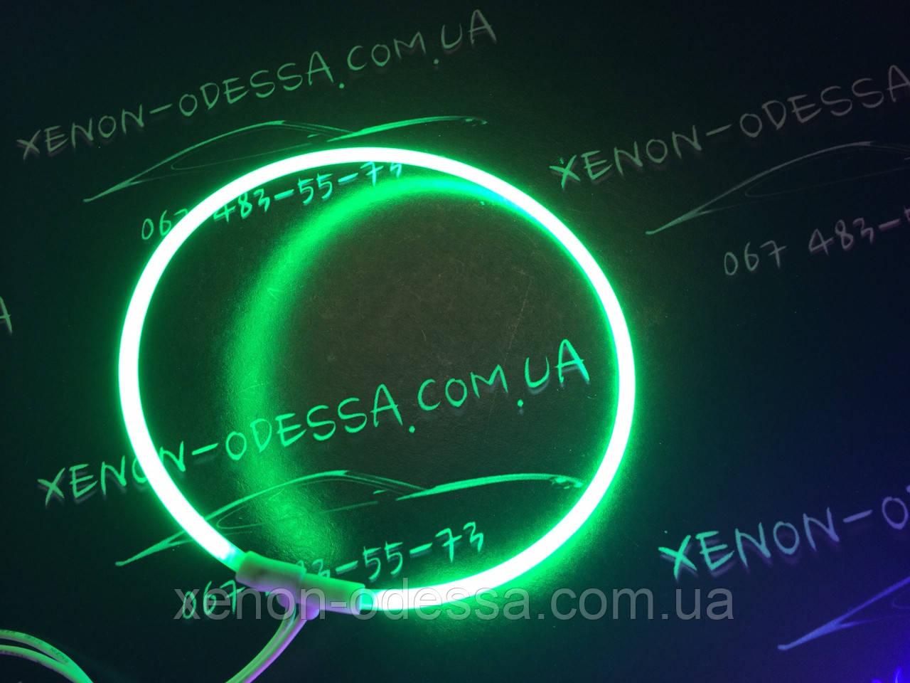 Ангельские глазки CCFL 75 мм зеленый / Angel Eyes CCFL 75 mm GREEN