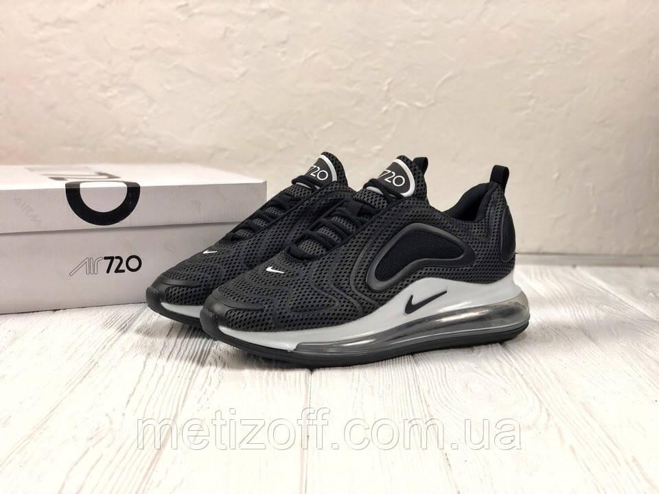 3a8832d5 Мужские кроссовки Nike Air Max 720 графитовые с белым (копия) , фото 1