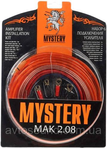 Установочный комплект для усилителя Mystery MAK 2.08