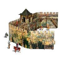 Сборная модель Умная бумага Крепостная стена серии Средневековый город (286)