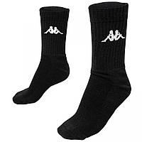 Носки Kappa Socks черные (3 пары) 303WIG0902-4346