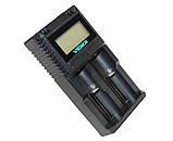 Зарядное устройство VIDEX VCH-UT200 2xAA/AAA Ni-MH/Cd, LCD дисплей, 2 независимых канала, фото 3