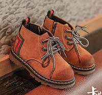 Черевики дитячі весна-осінь Gucci Replica коричневі f3c515bf1117e