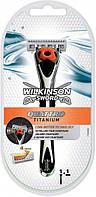 Станок мужской Wilkinson Sword Quattro Core Motion + 1 сменный картридж, фото 1