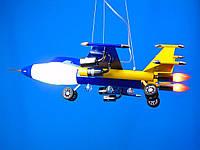 Люстра в детскую самолет (все цвета), фото 1