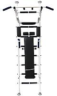 Шведская стенка усиленная «Fitness Pro Premium New ТМ Уют Спорт» (белая)