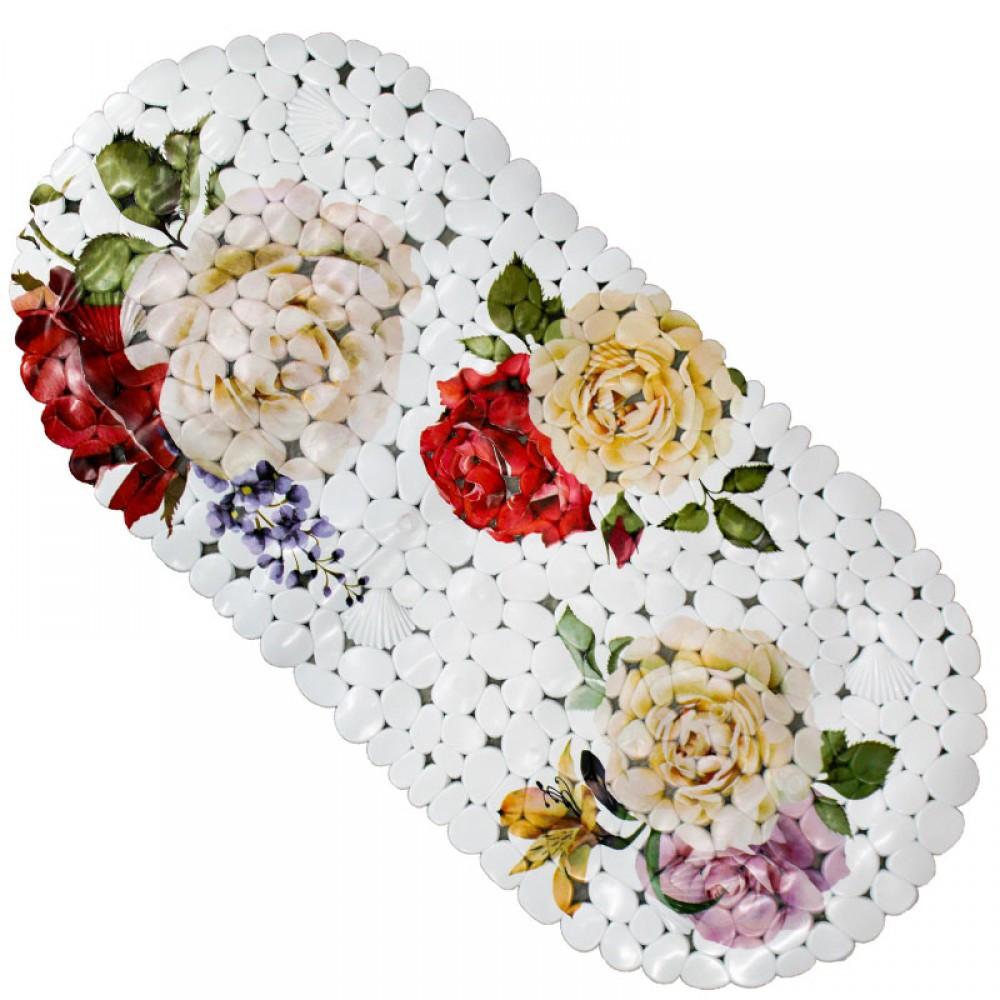 Коврики цветы в ванную комнату