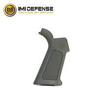 Прорезиненная эргономичная рукоятка IMI Defense (Израиль) для AR15/М4/М16