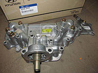 Маслоохладитель Hyundai E-County/HD45/HD46/HD65/HD72/HD78 04- (пр-во Mobis)