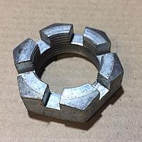Гайка хвостовика КрАЗ прорезная М39х2