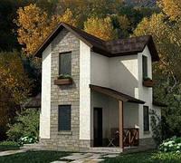 Дома площадью до 120 кв м