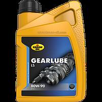 Трансмиссионное масло для гипоидных приводов KROON OIL Gearlube LS 80W-90 минералка для автомобиля 1л. KL01214